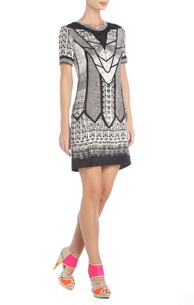 Runway Kidd Deco Silk Lace Dress