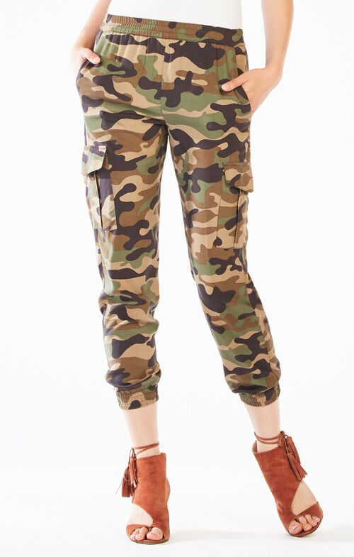 Cian Camouflage Cargo Jogger Pant