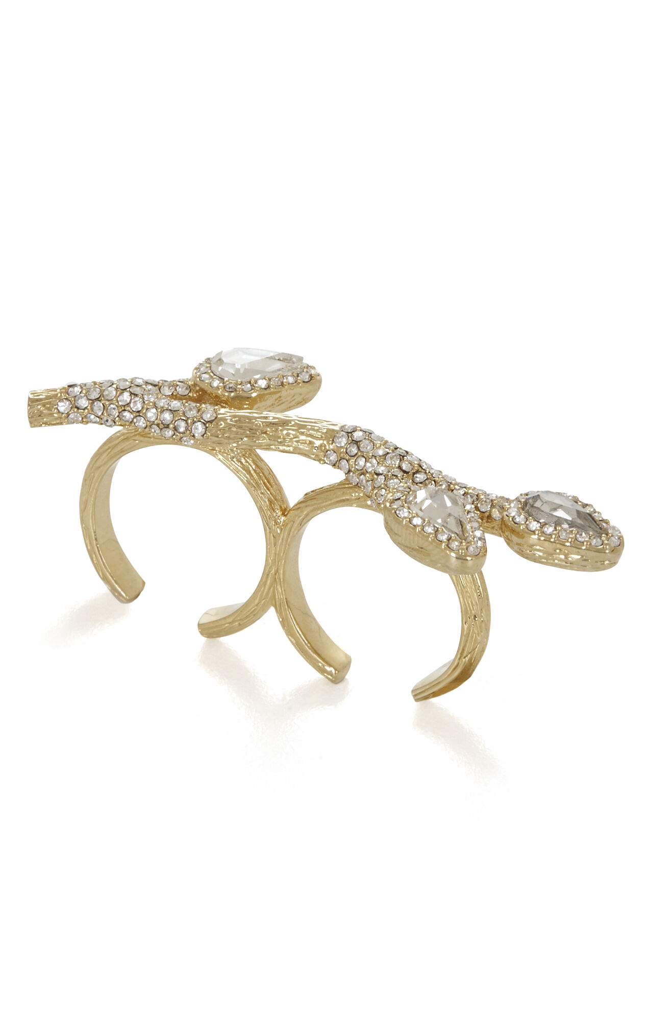 Pave Branch Ring