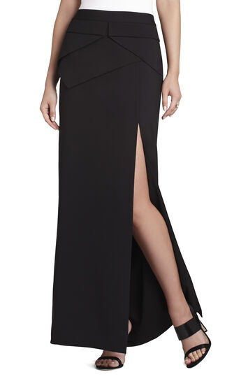 Beverly Peplum Long Skirt