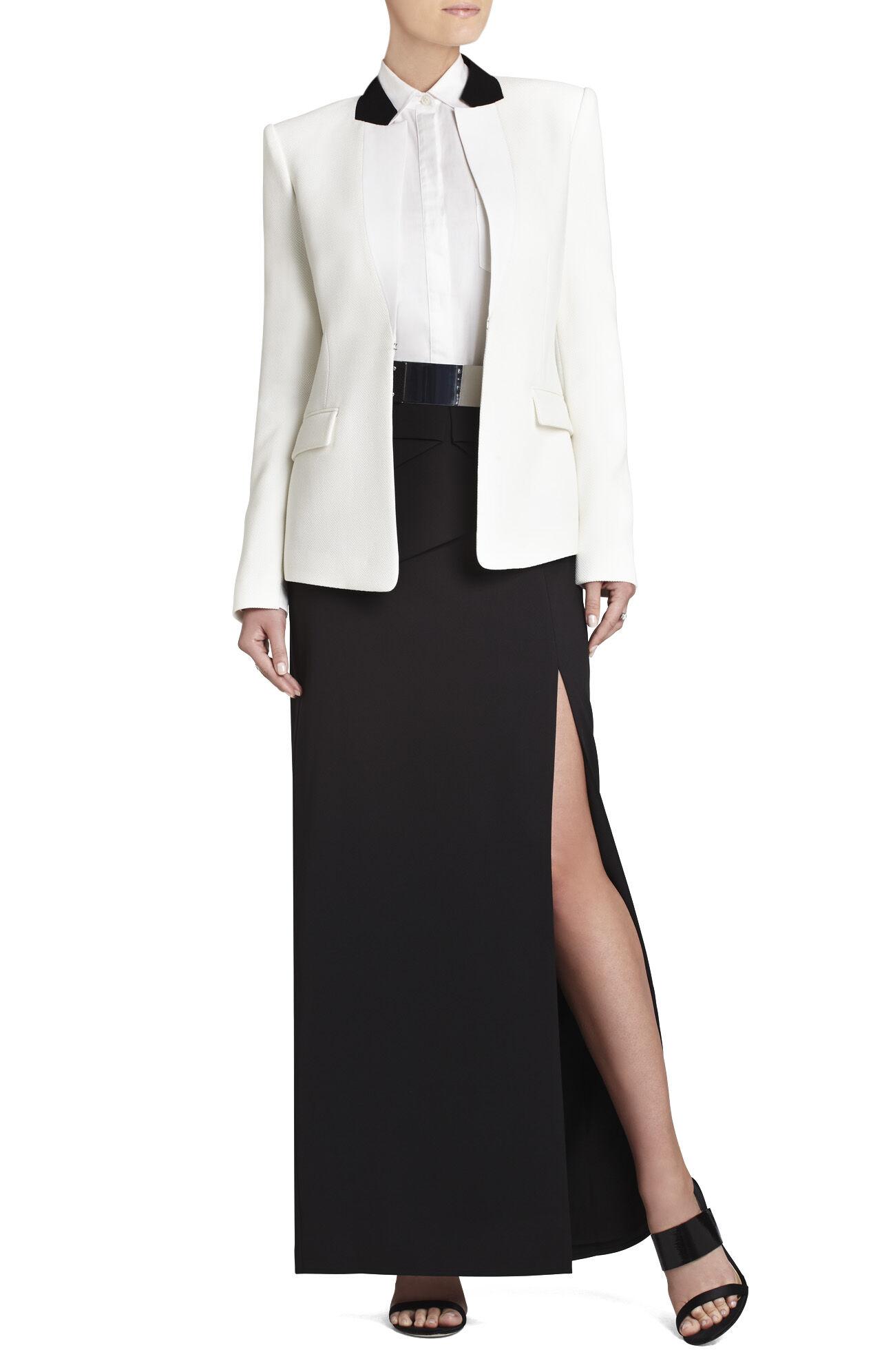 Beverly Peplum Long Skirt