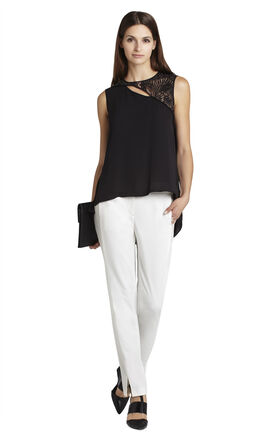 Jazzie Sleeveless Cutout Top