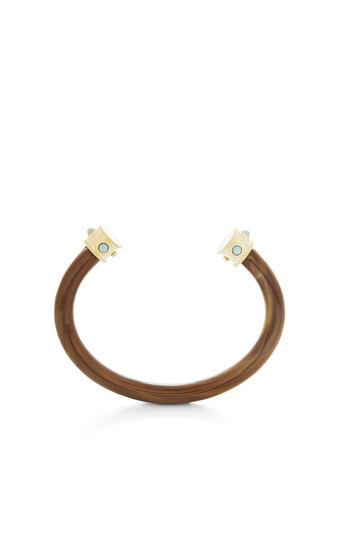 Faux-Horn Cuff Bracelet