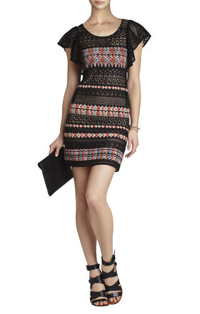 Roxine Blocked Sheath Dress