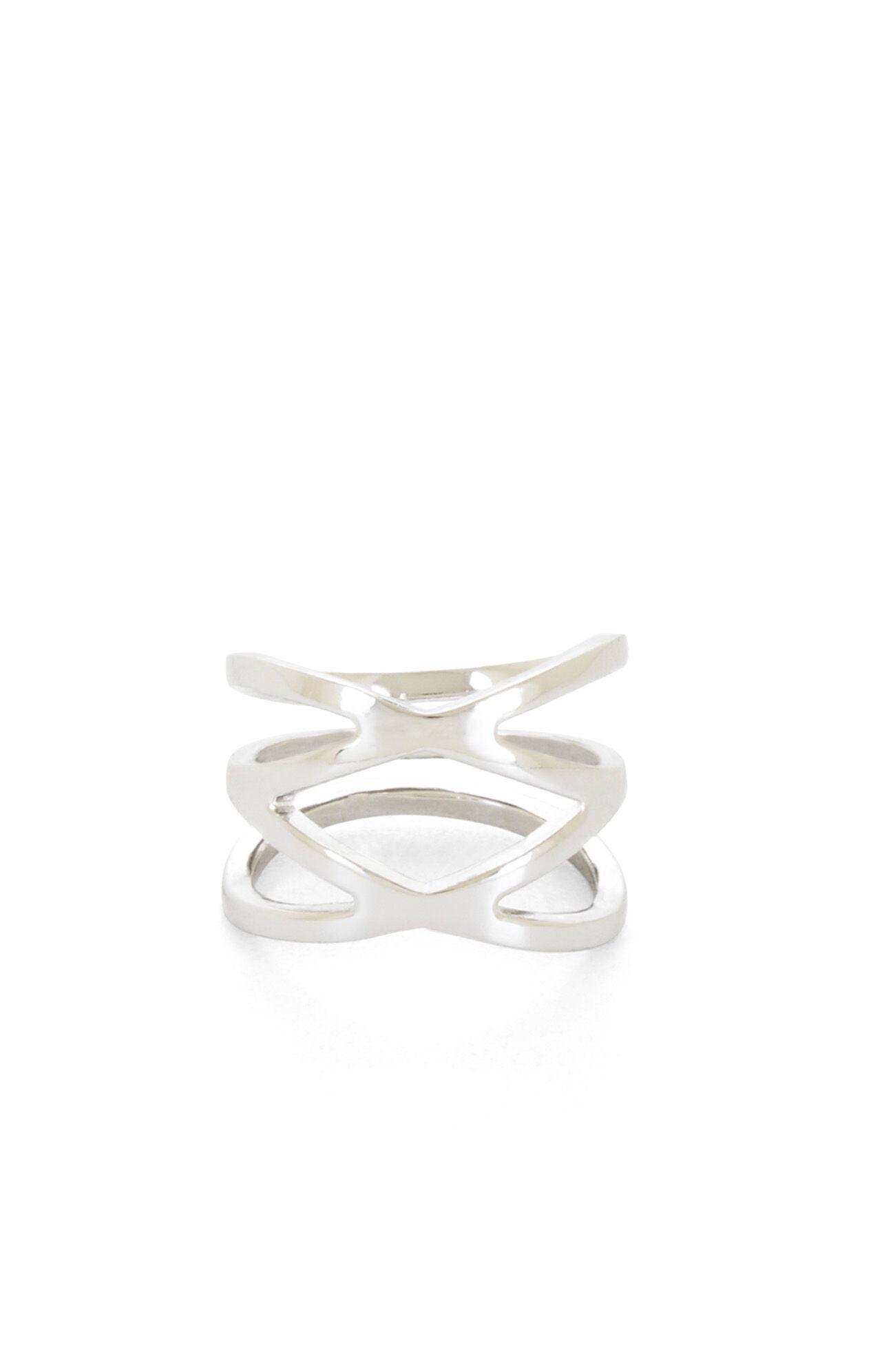 Double Crisscross Ring