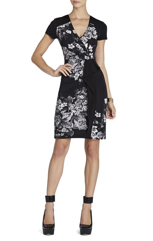 Laudy Floral Print Dress