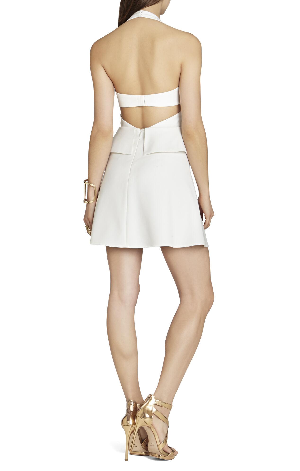 Denisa Cutout Halter Dress
