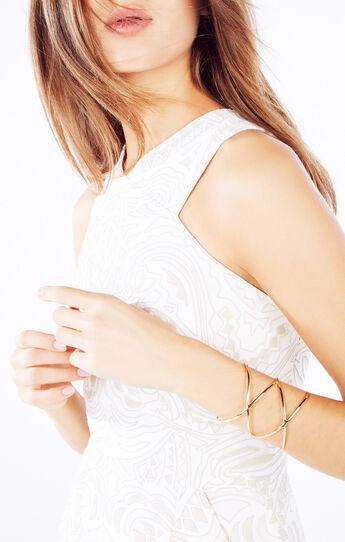 Double Crisscross Cuff Bracelet