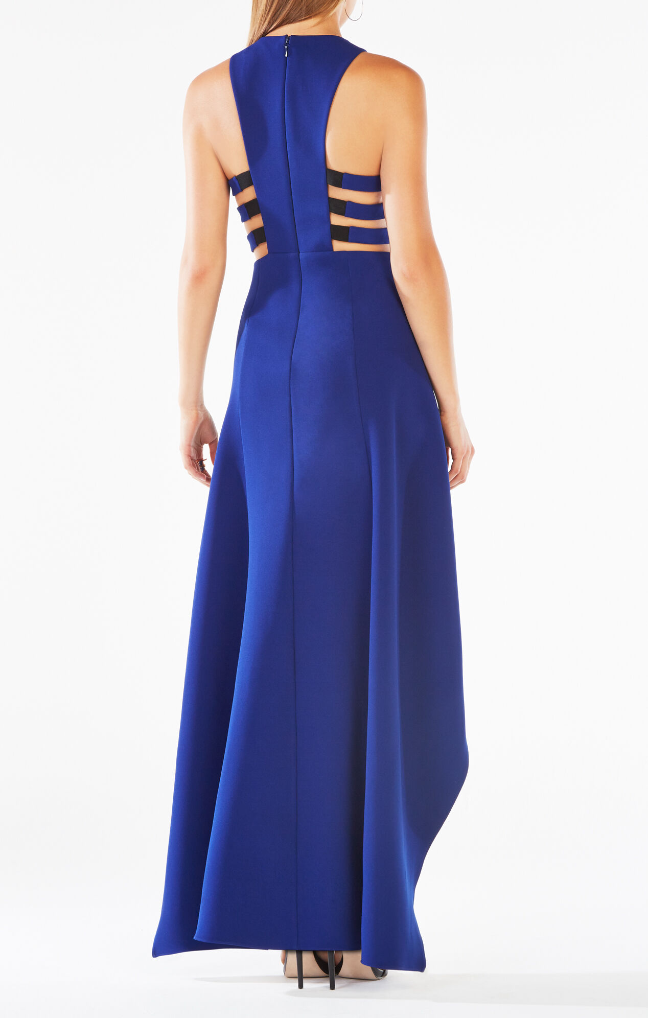 Rosalyn Cutout High-Low Dress