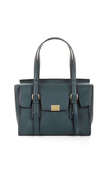 Gabi Medium Leather Satchel