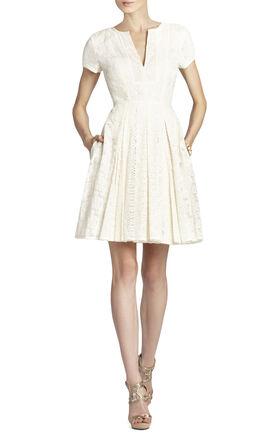 Kirsten Patchwork Lace Shirt Dress