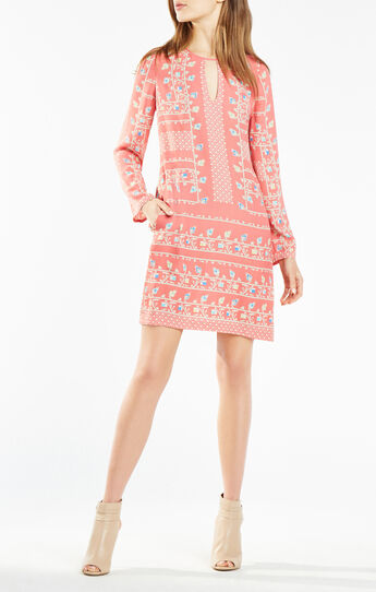Freya Floral Print Tunic Dress