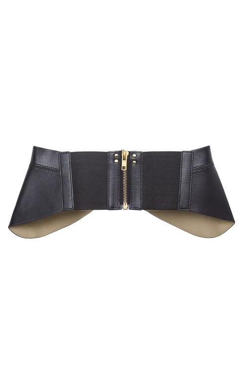Zip-Corset Waist Belt