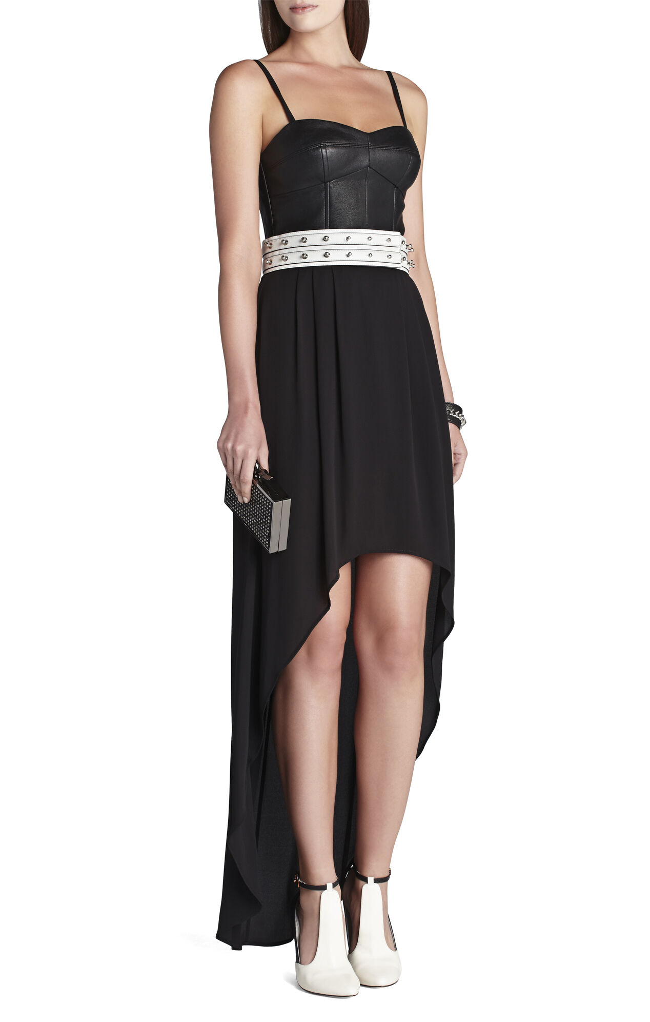 Collar-Studded Waist Belt