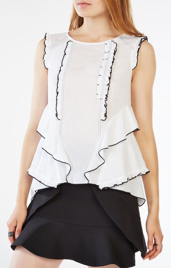 Ahdrey Ruffled Top