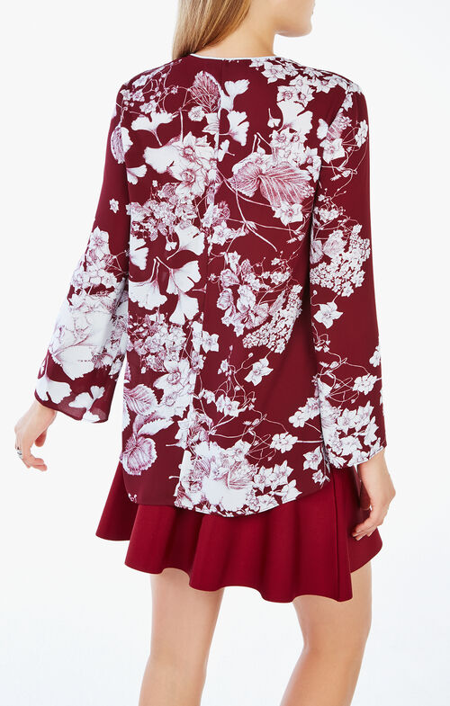 Katara Floral Print Top