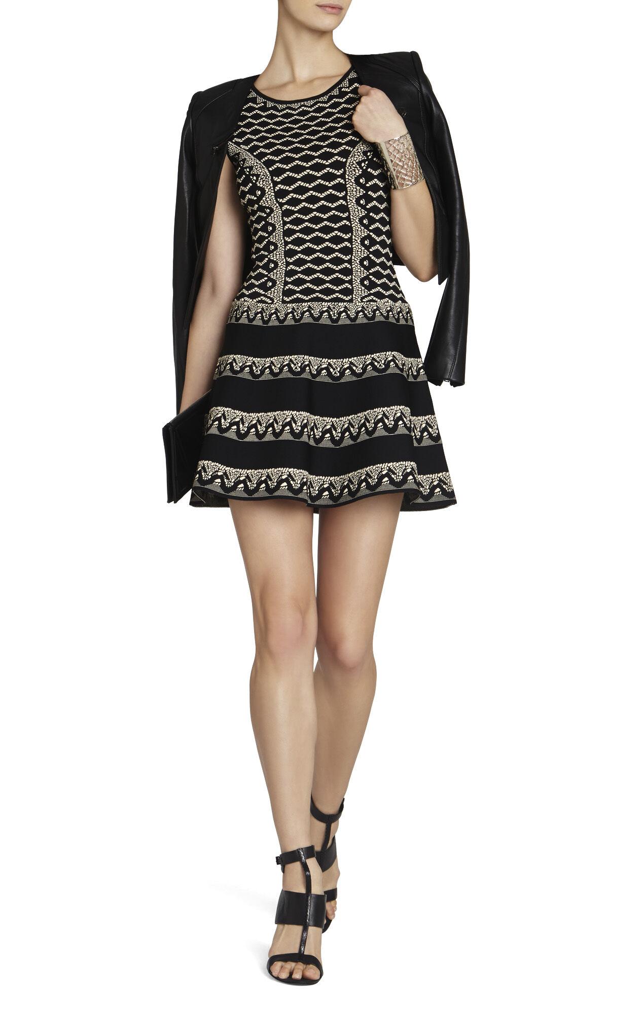 Wilma Jacquard A-Line Dress