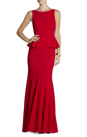 Francesca Sleeveless Godet Gown