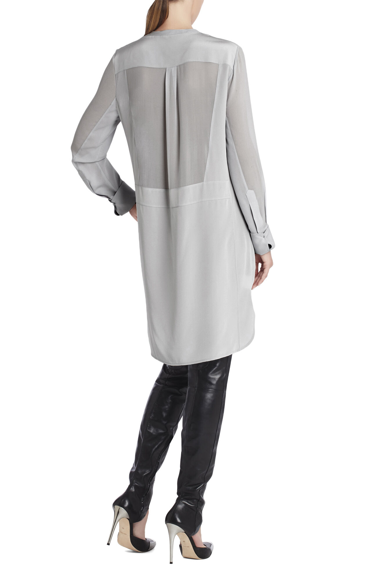 Runway Elvita Silk Shirt Dress