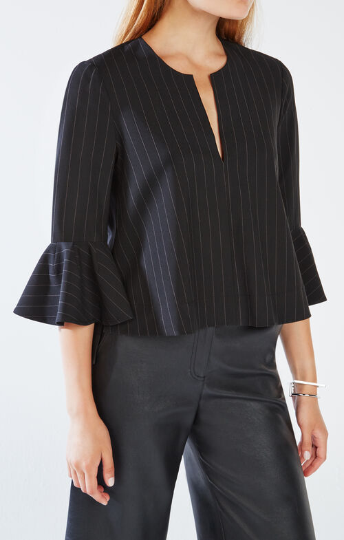 Valari Pinstriped Top