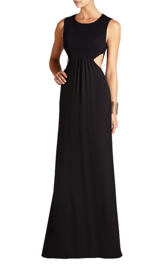 Angelinah Contrast Cutout Gown