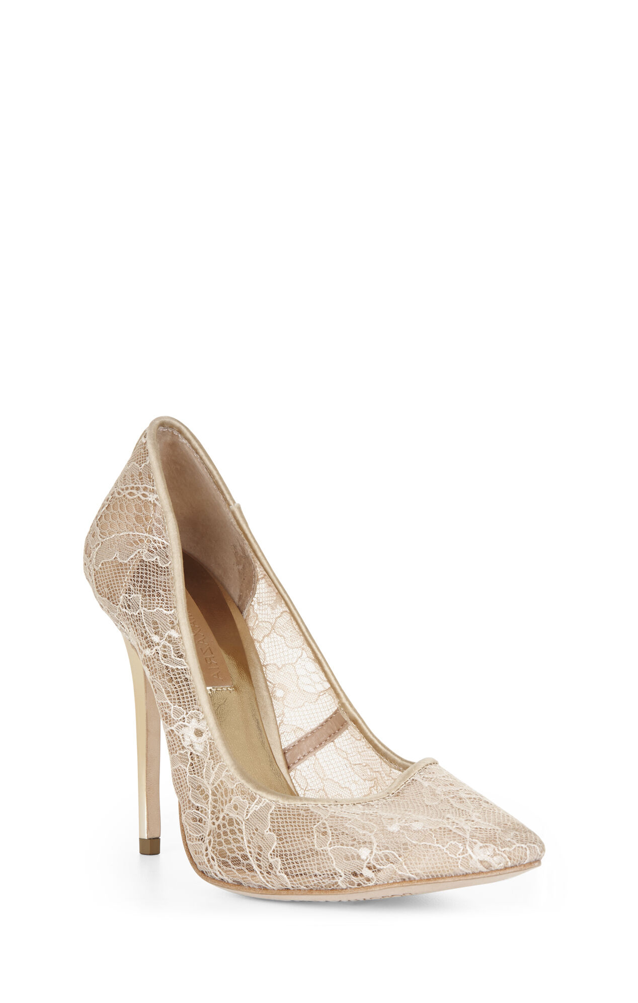Opia Lace High-Heel Pump