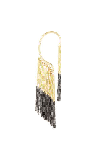 Chain Fringe Ear Cuff