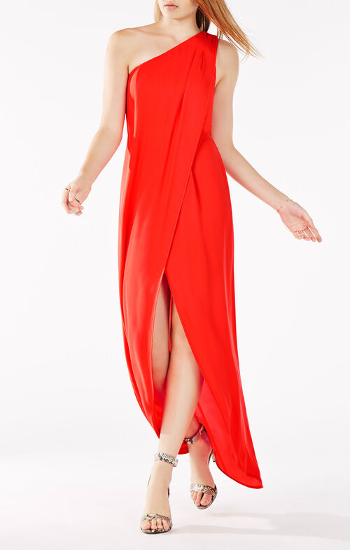 Dries One-Shoulder Gown