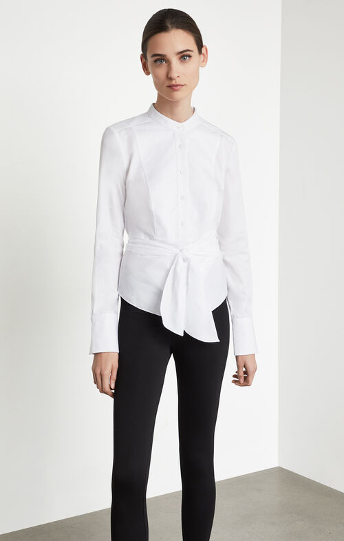 Kathryn Wrap Bib Shirt