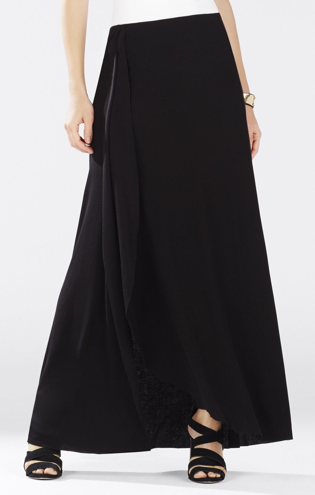 Logan Ruffle Maxi Skirt