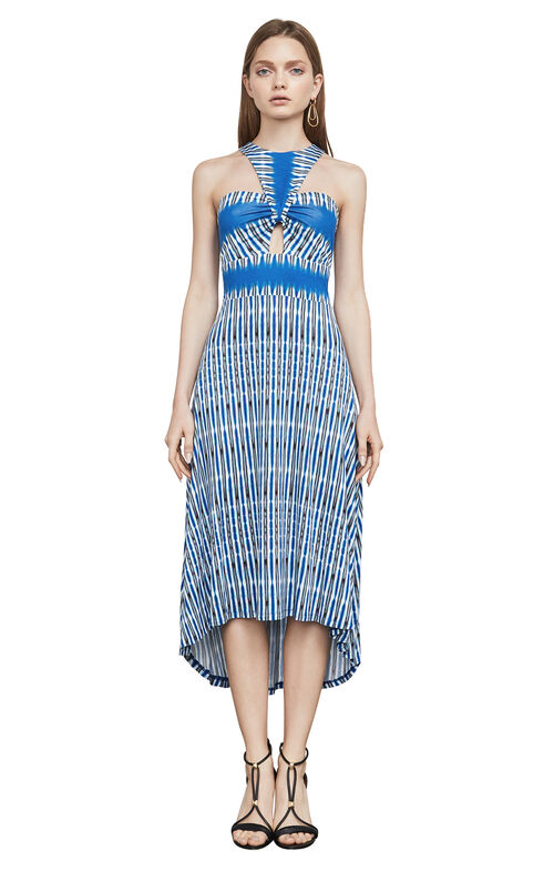 Eileen Tie-Dye High-Low Dress