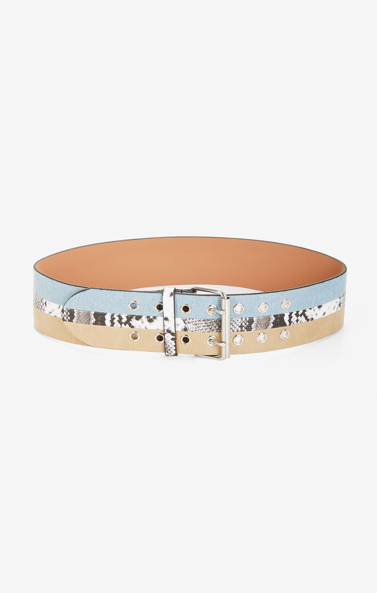 Paneled Waist Belt