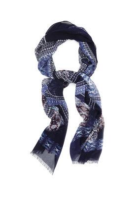Python Remix Silk Wrap Scarf
