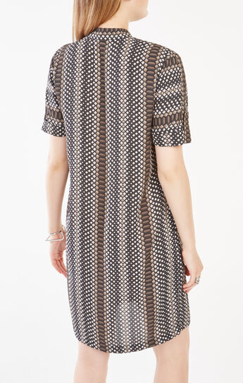 Bobbi Snake Print Dress