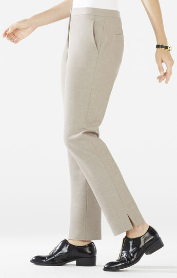 Tarik Slim-Leg Cropped Trouser