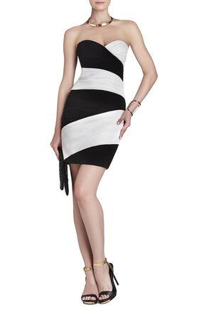Kalea Color-Blocked Short Dress