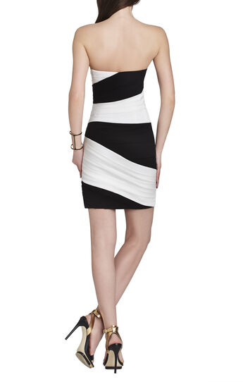 Kalea Color-Blocked Short Dress