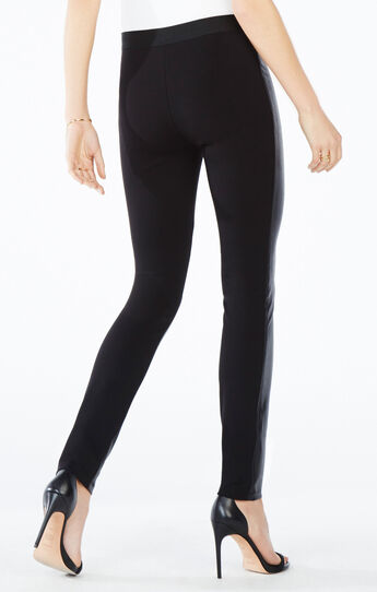 Sayer Faux-Leather Moto Leggings