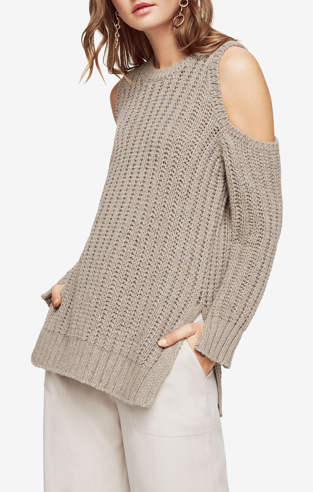 Tressa Cold-Shoulder Sweater