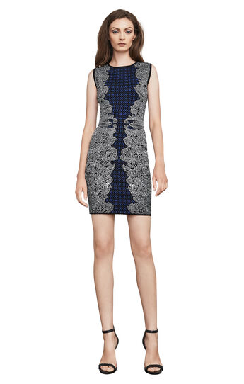 Jazmyne Tribal Jacquard Dress