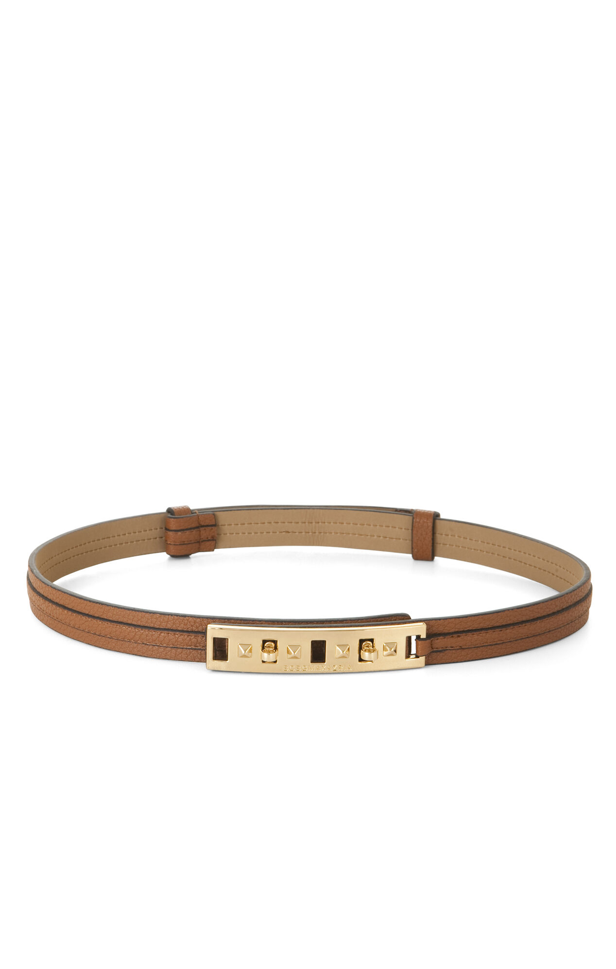 Skinny Twist-Lock Waist Belt