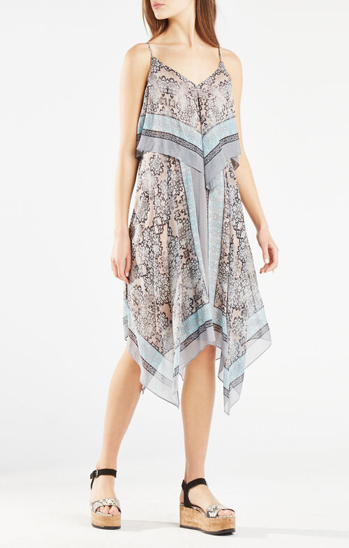 Novah Blossoms Print Dress