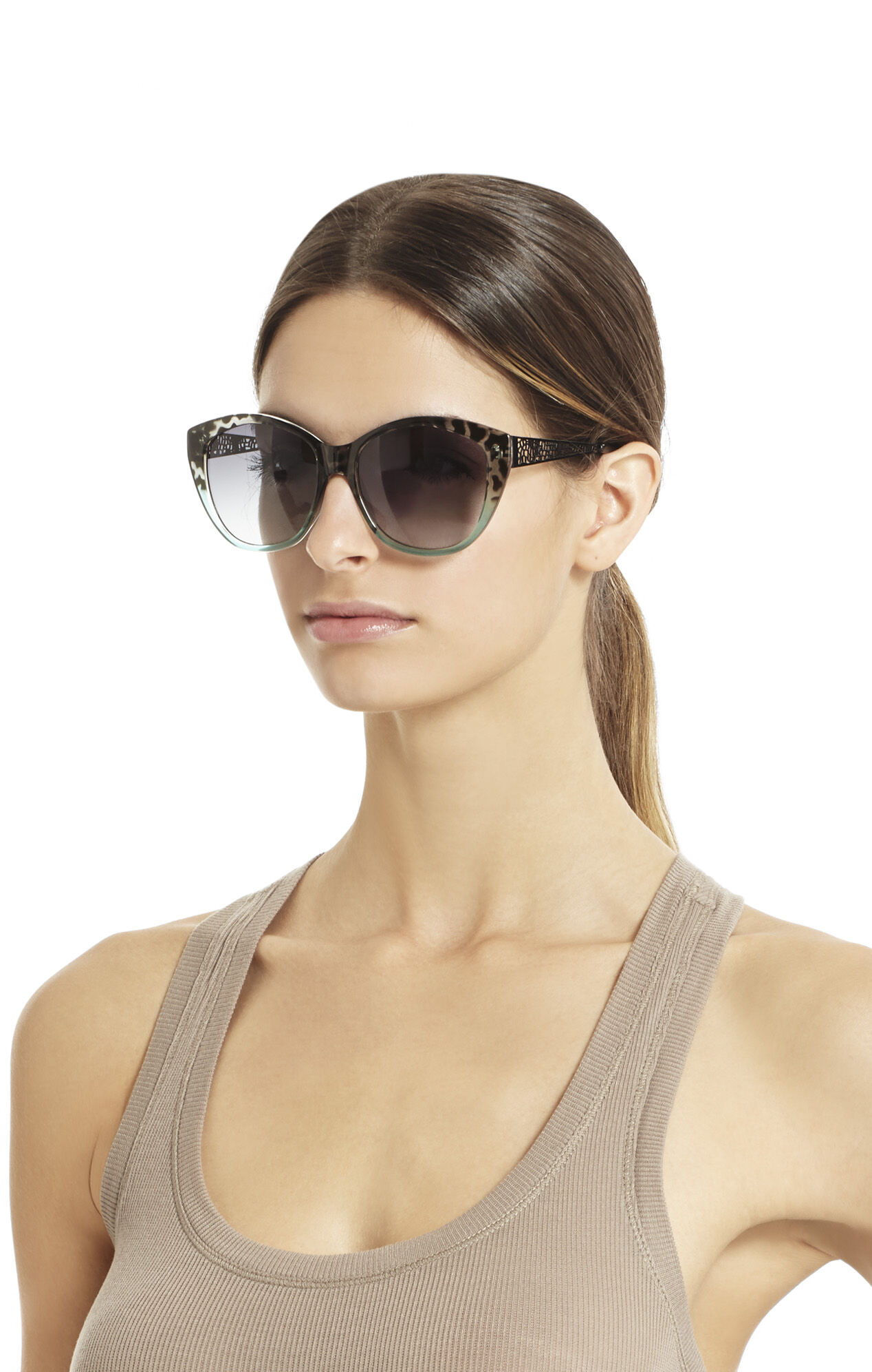 Ombre Cat-Eye Sunglasses