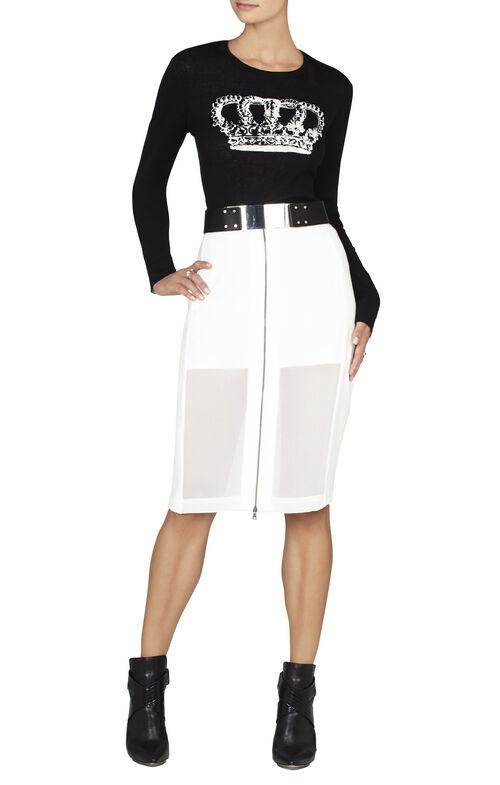 Diane Reversible Crown Intarsia Pullover