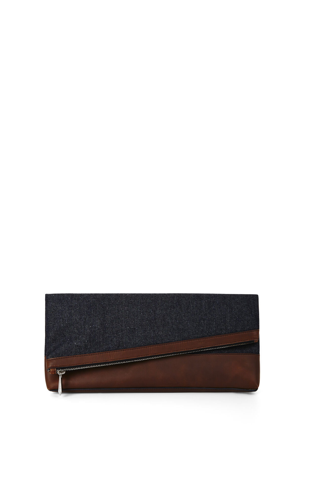 Asymmetrical Fold-Over Clutch