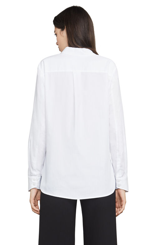 Audreanna Blocked Button-Up Shirt