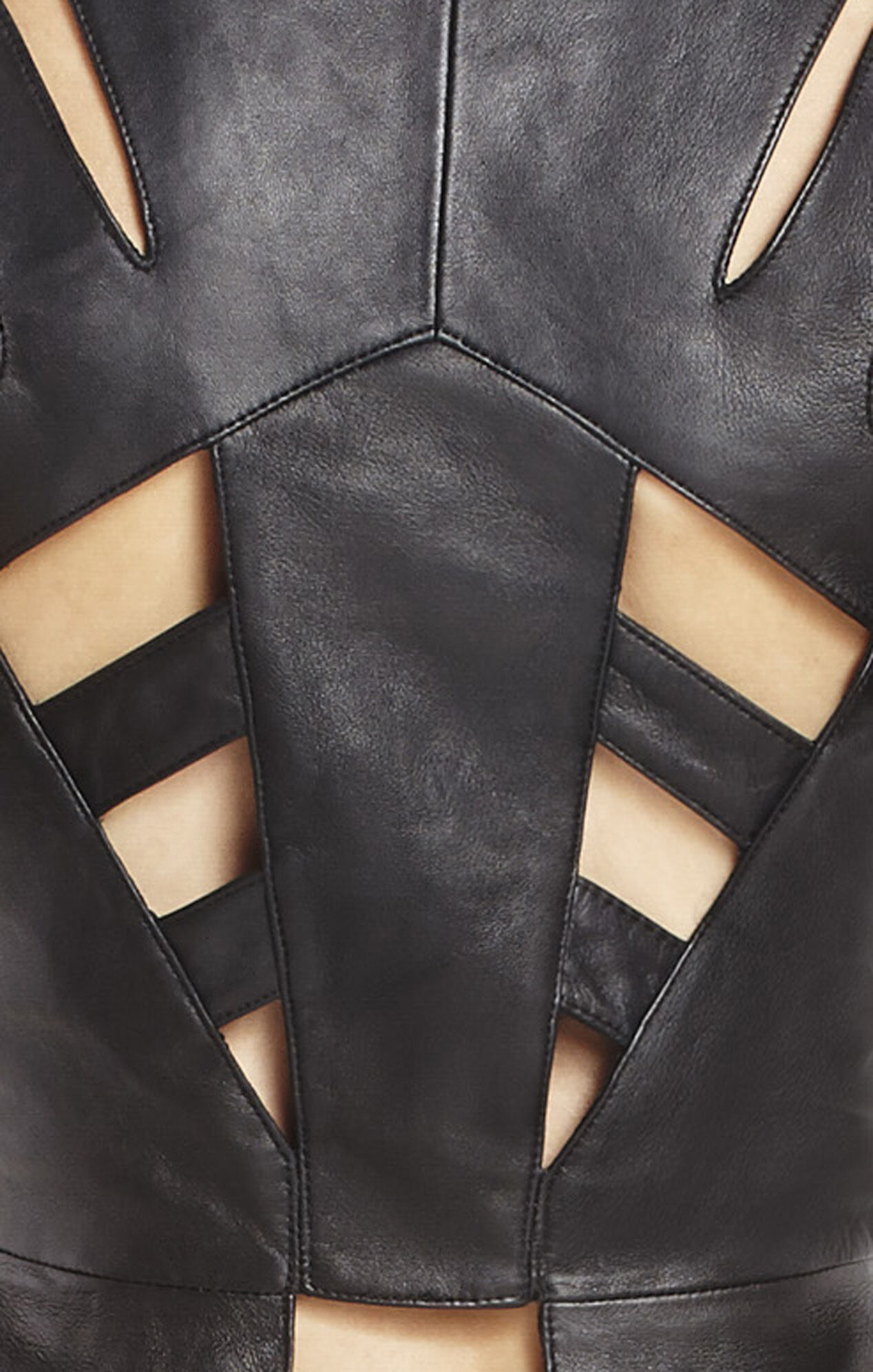 Lief Leather Vest