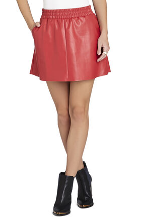 Laika Faux-Leather Miniskirt