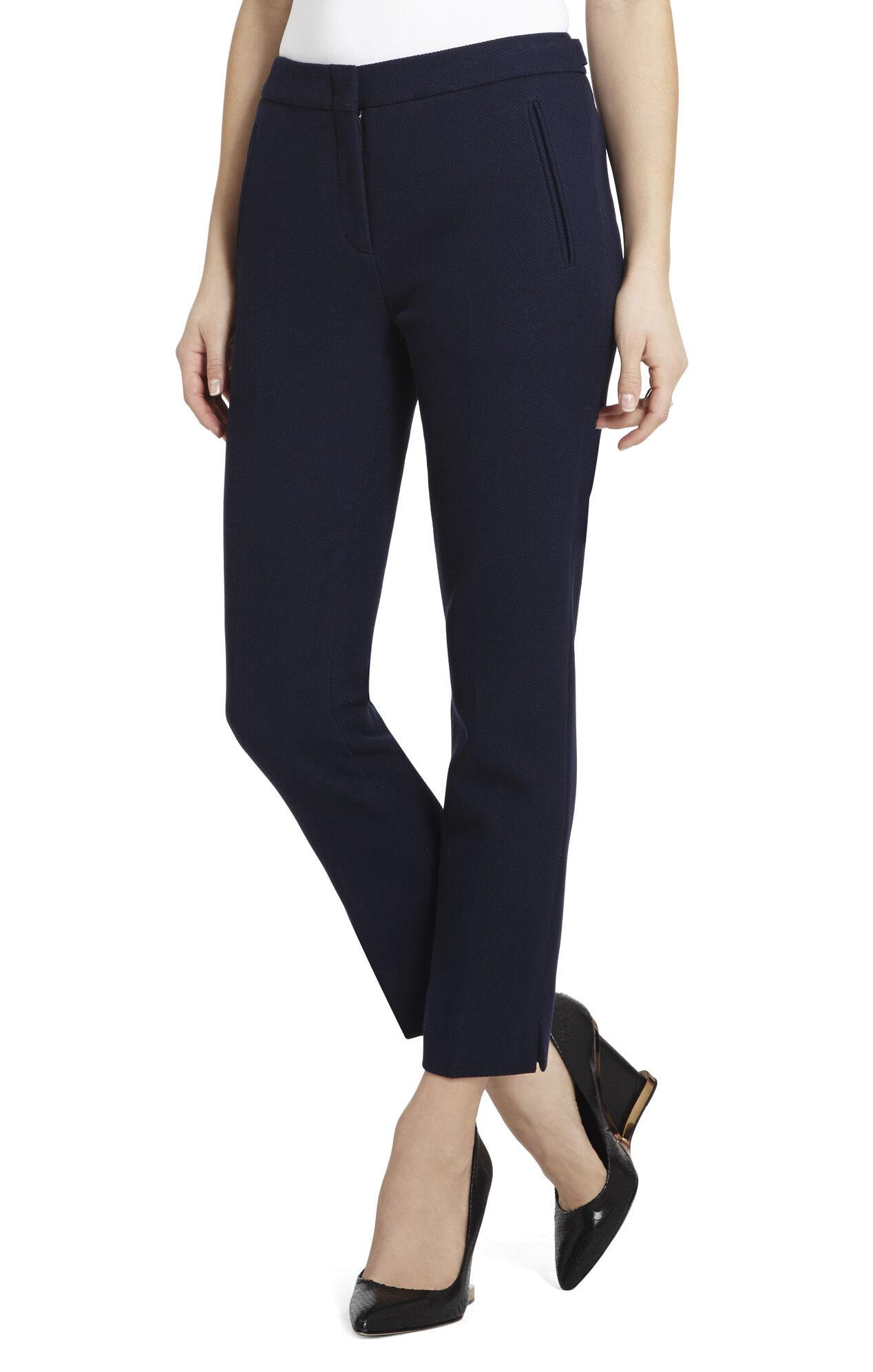 Allen Slim-Leg Cropped Pant
