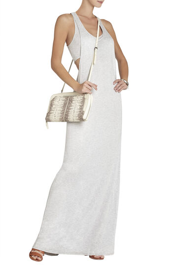 Whitnee Double-Tank Twist-Back Dress